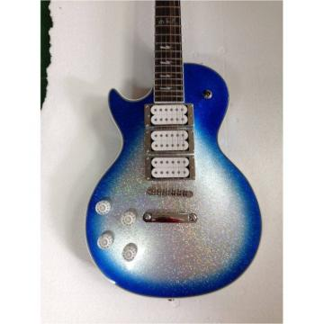 Custom Shop Robot Left Handed Blue Ace Frehley Robot Electric Guitar