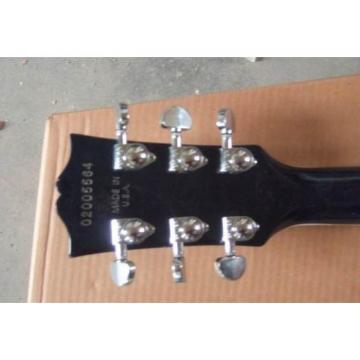 Custom Shop Robot Left Handed Blue Ace Frehley LP Electric Guitar