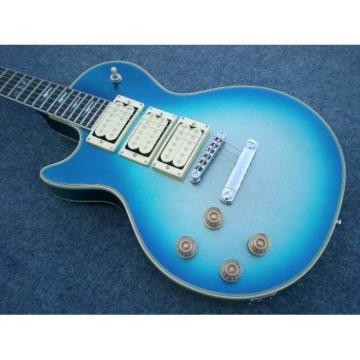 Custom Shop Robot Left Handed Ace Frehley Blue LP Electric Guitar