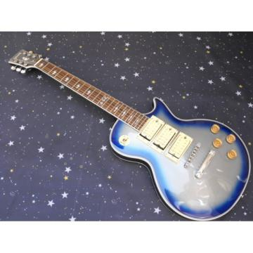 Custom Shop Robot Blue Ace Frehley Robot Electric Guitar