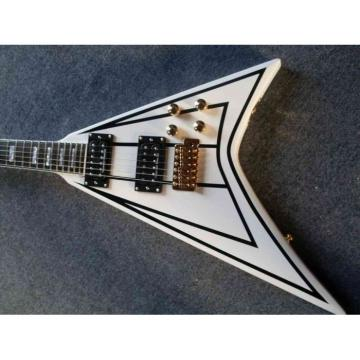 Custom Shop RR24 Electric Guitar Jackson Pro White