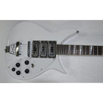 Custom Shop Rickenbacker 325C64 White 6 String Electric Guitar