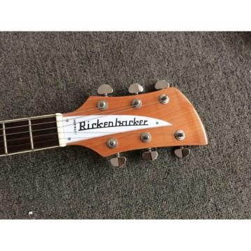Custom Shop Rickenbacker Natural 380 Electric Guitar Wilkinson Parts