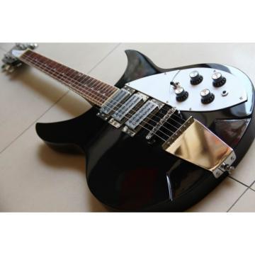Custom Shop Rickenbacker 325C64 Jetglo Black Electric Guitar