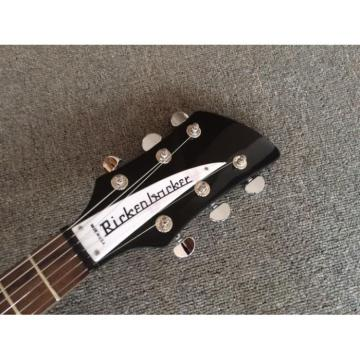 Custom Shop Rickenbacker 350 Jetglo Black Electric Guitar