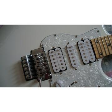 Custom Shop Richie Sambora American Fender White Floyd Rose Tremolo Electric Guitar 24 Frets