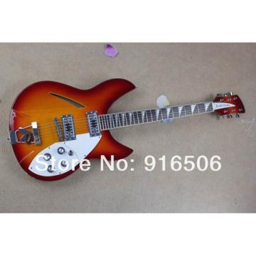 Custom Shop Rickenbacker 330 Fireglo Electric Guitar
