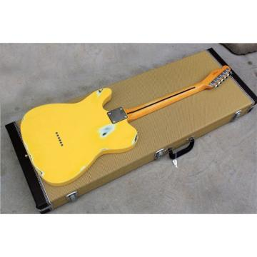 Custom Shop Relic Yellow Vintage Old Aged Telecaster Electric Guitar