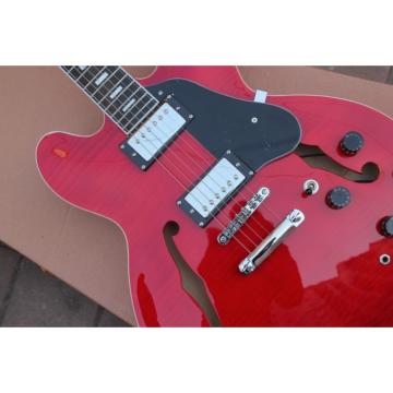 Custom Shop Red ES335 LP Electric Guitar