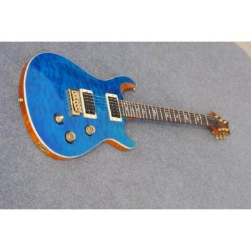Custom Shop PRS Whale Blue Quilted Maple Top 22 Frets Electric Guitar