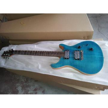Custom Shop PRS Whale Blue Maple Top 24 Frets Electric Guitar