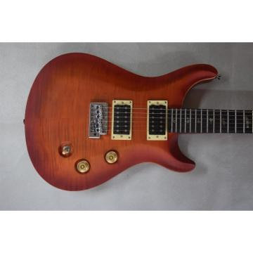 Custom Shop PRS Matte Cherry Burst Electric Guitar