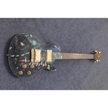 Custom Shop PRS Dragon 22 Frets Whale Blue Electric Guitar