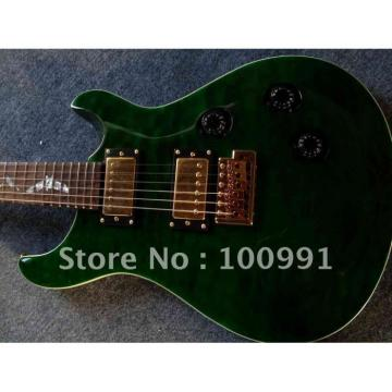 Custom Shop PRS Dark Green Electric Guitar
