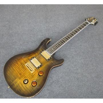 Custom Shop PRS Brown Tiger Electric Guitar Brown Binding