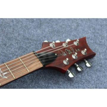 Custom Shop PRS Burgundy Red Electric Guitar
