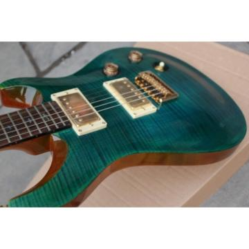 Custom Shop PRS Blue Green Electric Guitar