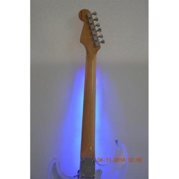 Custom Shop Plexiglass Blue Led Acrylic Stratocaster Electric Guitar