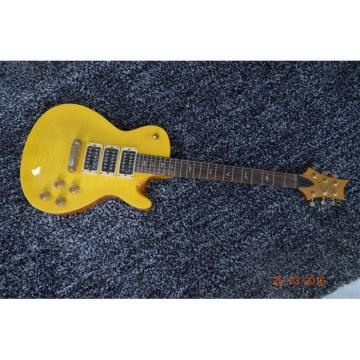 Custom Shop Paul Reed Smith Yellow Santana Flame Maple Top Electric Guitar