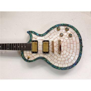 Custom Shop Pearl Abalone Top Electric Guitar MOP