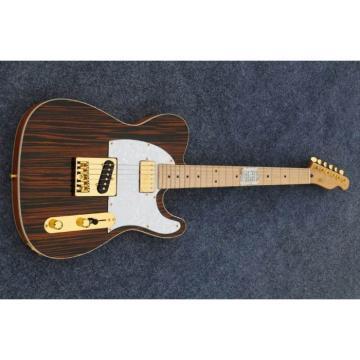 Custom Shop Orford Cedar Telecaster Zebra Body Electric Guitar