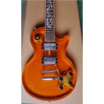 Custom Shop Orange Plexiglass Acrylic Electric Guitar