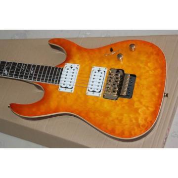 Custom Shop Orange Pensa Floyd Rose Electric Guitar