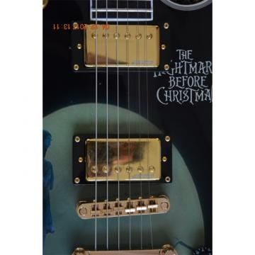 Custom Shop Movie Nightmare Before Christmas Theme Stickers Electric Guitar
