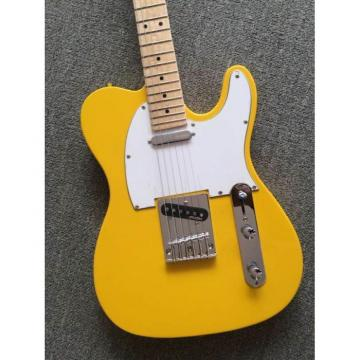 Custom Shop Monaco Yellow Telecaster Danny Gatton Electric Guitar