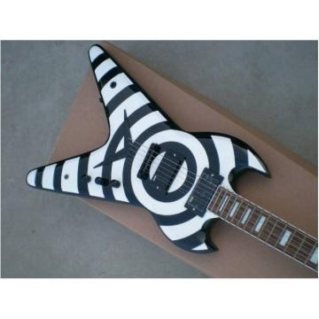 Custom Shop LP Zakk Wylde Vintage White SGV Electric Guitar