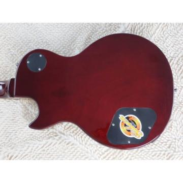 Custom Shop LP Transparent Red Wine Electric Guitar