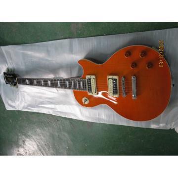 Custom Shop LP Standard Slash Orange Electric Guitar