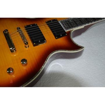 Custom Shop LTD Deluxe ESP Tobacco Honey Electric Guitar