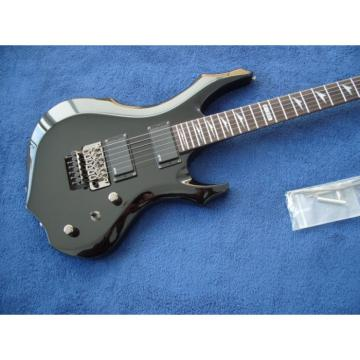 Custom Shop New LTD Black Electric Guitar