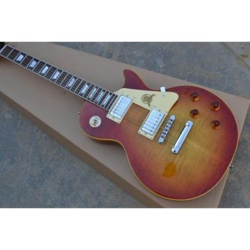 Custom Shop LP Quilted Cherry Maple Top Electric Guitar
