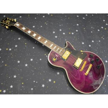 Custom Shop LP Purple Electric Guitar