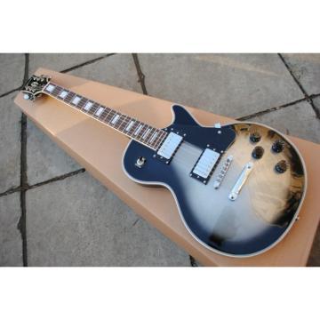 Custom Shop LP Silverburst Electric Guitar