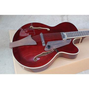 Custom Shop LP Red Wine Fhole Electric Guitar
