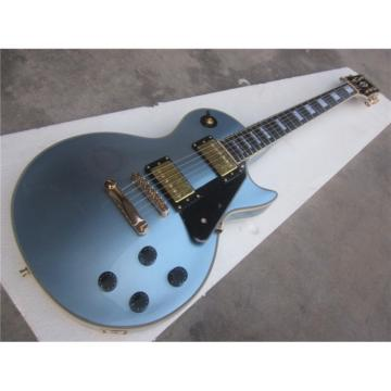 Custom Shop LP Pelham Blue Standard 6 String Electric Guitar