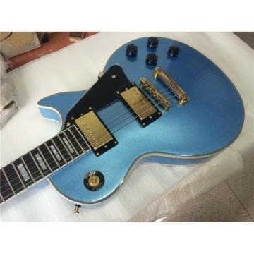 Custom Shop LP Pelham Blue 6 String Electric Guitar