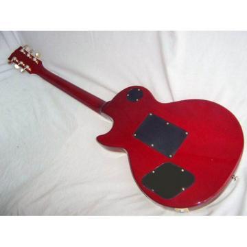 Custom Shop LP Natural Wood Electric Guitar Floyd Rose Tremolo