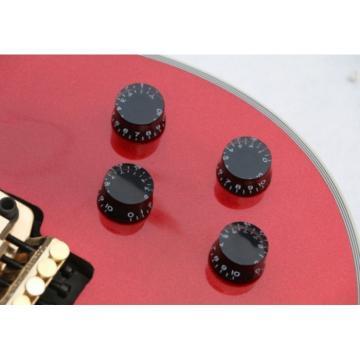 Custom Shop LP Metallic Red Floyd Rose Electric Guitar