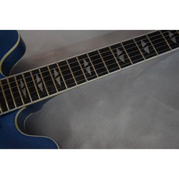 Custom Shop LP Dave Grohl Pelham Blue DG-335 Electric Guitar Frets and Fretboard Bindings
