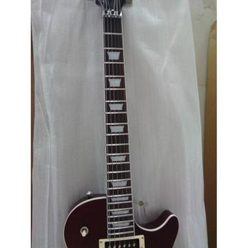 Custom Shop LP Floyd Vibrato Autumn Tiger Maple Top Electric Guitar