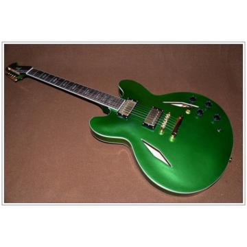 Custom Shop LP Dave Grohl Green DG335 Electric Guitar