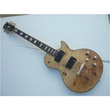 Custom Shop LP American Burly Wood Electric Guitar