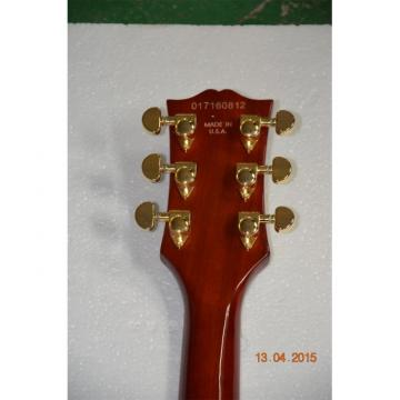 Custom Shop LP Alder Body Natural Sunburst Electric Guitar