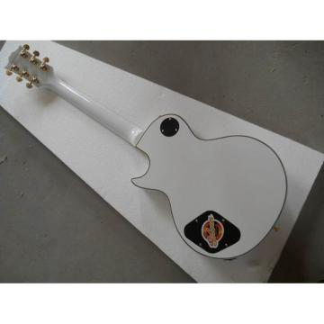Custom Shop guitarra PEarl White Ebony Fretboard Electric Guitar