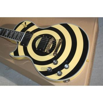 Custom Shop Left Handed Zakk Wylde LP Electric Guitar