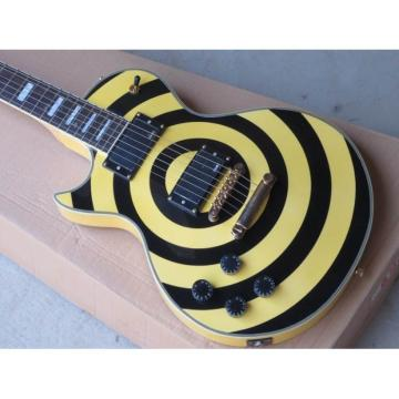 Custom Shop Left Handed Zakk Wylde Bullseyes Electric Guitar